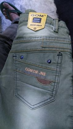 Gom jeans Heartbreaking Quotes, Denim Pants, Flare Jeans, Blue Denim, Cool Outfits, Mens Fashion, Pocket, Clothes, Weapon