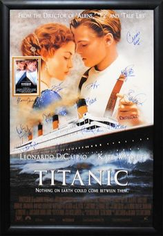A classic Titanic movie poster! Leonardo DiCaprio and Kate Winslet star in the Oscar-winning love story. Check out the rest of our excellent selection of Titanic posters! Titanic Movie Poster, Titanic Film, Movie Posters, Titanic Sinking, Leonardo Dicaprio, See Movie, Movie Tv, Epic Movie, Movie Theater