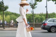 1 Dress A Day: Street Style From the Paris Fall Couture Collection
