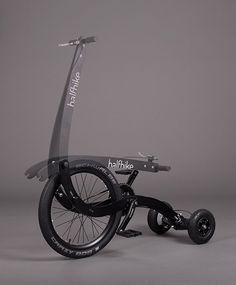 Área Visual - Blog de Arte y Diseño: Halfbike. Un medio de transporte sostenible