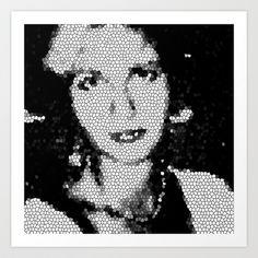 FACE Art Print by NioviSakali - $13.52