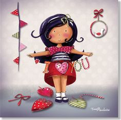 Tableau Paulette I love you