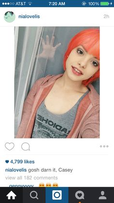 Nia and Casey from Hey Violet ♥