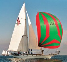 Cherubini 48 staysail schooner