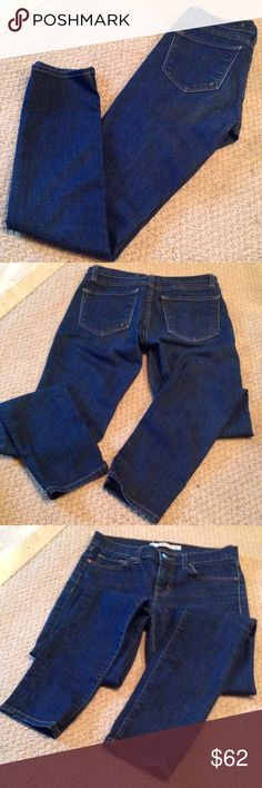 """J brand """"The Skinny"""" ankle size 25 Size 25 the skinny ankle length. Great condition. 95 percent cotton, 5 percent poly, 1 percent spandex J Brand Jeans Ankle & Cropped"""