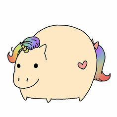 Haha fat unicorn