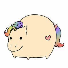 Haha fat unicorn