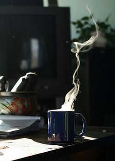 Awww! don't you love waking up to the smell of freshly brewed coffee?