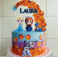 Frozen Themed Birthday Party, Elsa Birthday, Disney Princess Birthday, Frozen Party, Ana Frozen, Frozen Cake, Pastel Frozen, Cake Designs For Kids, 10 Birthday Cake
