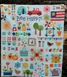 Bee Happy quilt-WIP