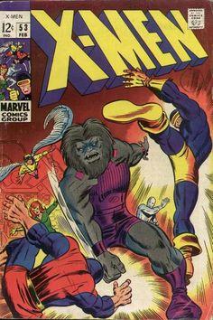 Cover for The X-Men (Marvel, 1963 series) #53