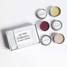 Lip Balm Collection  Lip Balm Gift Set Gift Idea For by EvyJoAndCo