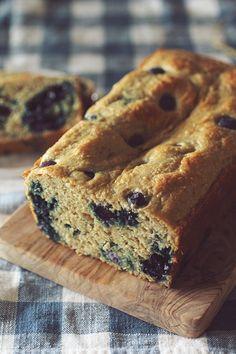 Vanilla Blueberry Protein Bread #CleanEating #GlutenFree #SugarFree