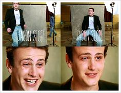 jason segel.....he's one of those guys i'd really like to meet in person