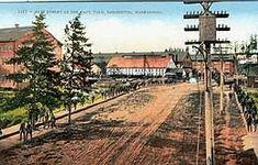 Image result for vintage postcards bremerton washington shipyards Bremerton Washington, Snoqualmie Falls, Vintage Postcards, Railroad Tracks, Yard, Image, Garten, Front Yards, Courtyards