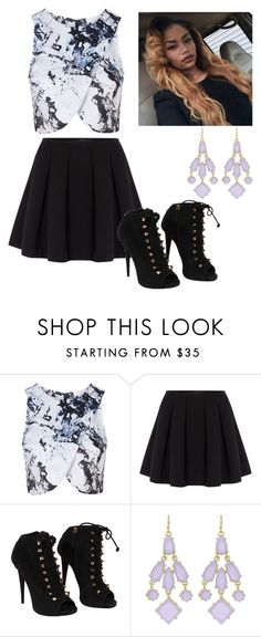 """Untitled #484"" by kittycupkake001 ❤ liked on Polyvore featuring Topshop, Polo Ralph Lauren, Giuseppe Zanotti and Towne & Reese"