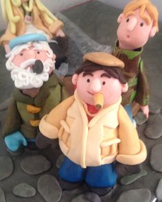 Only fools and horses cake topper