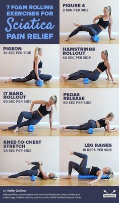7 Foam Rolling Exercises for Sciatica Pain Relief: Increasing core strength can help prevent sciatic pain and lead to a quicker recovery. This exercise utilizes the foam roller to strengthen the abdominal muscles. Fitness Workouts, Fitness Motivation, Ab Workouts, Workout Abs, Roller Workout, Pilates Roller, Body Pump Workout, 10 Min Workout, Fitness Memes