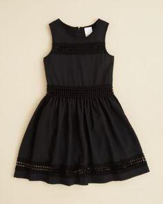 Ella Moss Girls' Reagan Crochet Dress - Sizes 7-14   Bloomingdale's
