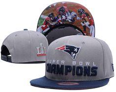 New England Patriots 2017 Super Bowl LI Champions Adjustable Hat Gray YD  New England Patriots Snapback d39434b19