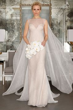Wedding gown by Romona Keveza Collection Bridal.