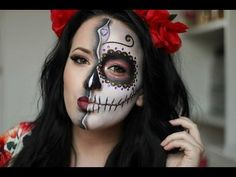 Image result for diy day of the dead makeup