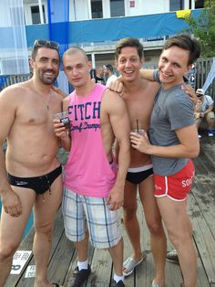 The Boys on Fire Island. Ryan Roman Cliff Gleb