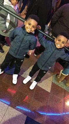 Cute Mixed Babies, Cute Black Babies, Beautiful Black Babies, Cute Twins, Cute Babies, Black Twin Babies, Mixed Baby Boy, Twin Boys, Black Twins