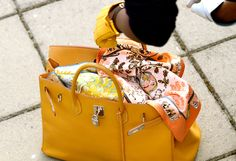 All I need R my Hermes Scarves! Instagram - @fumisfashionfiles