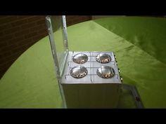 Fogão de latinha e caixa de leite - tutorial 03
