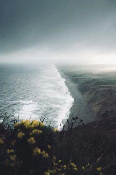 Lens Perspectives — Moody Coast-  Point Reyes National Seashore