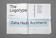 Greenspace created a new identity and visual language for Zaha Hadid including a bespoke typeface designed in collaboration with the Architects. Typeface: Greenspace / Miles Newlyn. Website Build: Scott David. Photography: Alex Telfer. Music: Ninja Tunes #graphicdesign #branding #design #visualidentity #typography