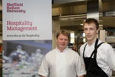 Runner up Alfie Olinski Losehill House with Head Chef Darren Goodwin ES Awards 2013 YCofY
