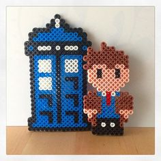 Doctor Who hama beads by merillou