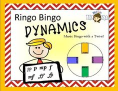 This game helps teach the names and meanings of dynamic symbols.With the fun and pizzaz of the Ringo Bingo Family of games, this game has its own unique little twist. This game includes:Table of ContentsDetailed Instructions4 Different Bingo CardsAnswer KeyCalling Cards