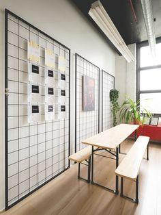 Visite guidée : Le bureau de Caserne par atelier catherine catherine - Index-Design.ca