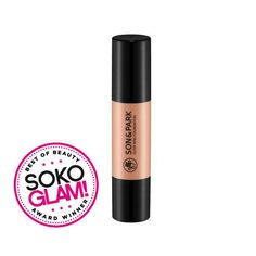 """Son & Park Glow Ring Foundation Stick. Super blendable (even comes with a convenient built-in brush) for a dewy, """"no makeup-makeup"""" look."""
