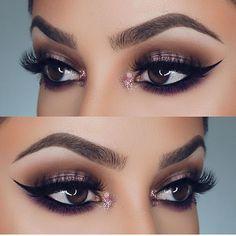 "7,610 Likes, 22 Comments - Universo da Maquiagem (@universodamaquiagem_oficial) on Instagram: ""Super pretty!  @dianamaria_mua @dianamaria_mua @dianamaria_mua ✨✨ #amazing #auroramakeup…"""