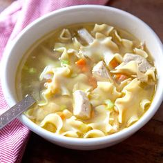 Warming, filling chicken noodle soup just may be the ultimate panacea.