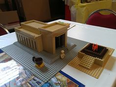 Lego Solomon's Temple by Kooberz, via Flickr