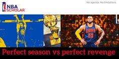PERFECT SEASON VS PERFECT REVENGE » https://sway.com/Puz7QCMlxUBh8U61 #DefendTheLand #Cavs #Warriors #NBA #DubNation #Storytelling