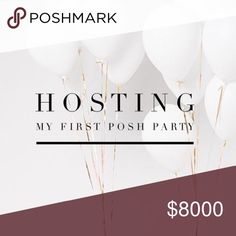 🥂🎉ITS A PARTY!!🎉🥂 Hosting my first Posh Party on 5/21!! LIKE FOLLOW AND SHARE to spread the word and to gain followers. Make this into a follow game while inviting everyone to my party!! Stay tuned you could be the next host pick!! CHANEL Dresses