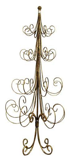 Ormanent trees, ornament display, ornament hooks, metal Christmas ...