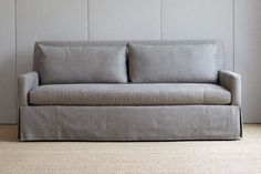 "Burton Skirted 75"" Sofa | BungalowClassic"