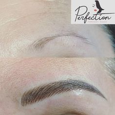 She barely had brows, but now she has perfect eyebrows. Not only save tons of time, but also be pretty every moments. For appointment please call or text www. Mircoblading Eyebrows, Tweezing Eyebrows, Threading Eyebrows, Eyebrow Makeup Tips, Permanent Makeup Eyebrows, Beauty Makeup, Eye Makeup, Perfect Eyebrows, Perfect Makeup