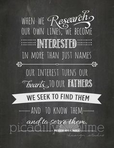 Items similar to June 2013 Visiting Teaching Message LDS on Etsy Visiting Teaching Message, Visiting Teaching Handouts, Family History Quotes, Black History Quotes, Genealogy Quotes, Family Genealogy, Relief Society Activities, Family Research, History Activities