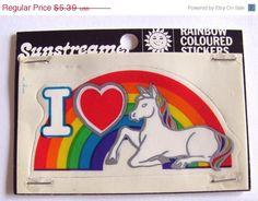 ON SALE Rare Vintage Illuminations by VintageStickerLove on Etsy