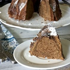 All That's Left Are The Crumbs: Brown-Sugar Ripple Bundt Cake ~ #BundtBakers