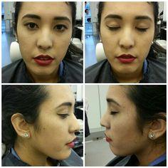 """Klassisk """"red lip look"""""""