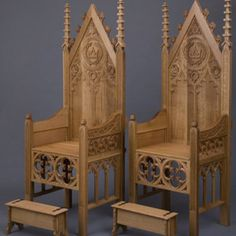 Superbe Thrones.    I Thought To My Self Those Look Like The Westu0027s Thrones.